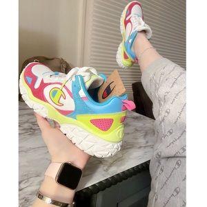 Champion Tank Track Neon Street Shoes